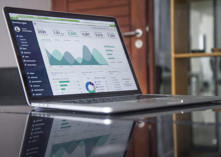 laptop data visualisation